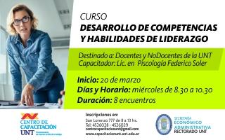 DESARROLLO DE COMPETENCIAS Y HABILIDADES DE LIDERAZGO febrero 2019 web